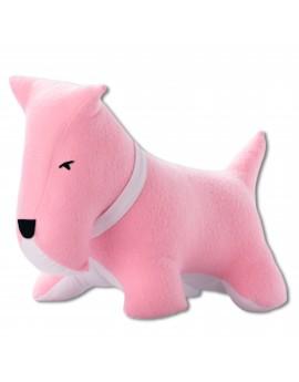 Petit dog rose blanc