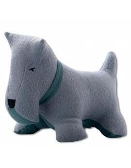 Petit dog gris vert