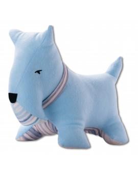 Petit dog bleu